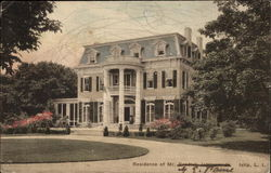 Residence of Mr. G. E. Paine