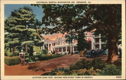 Historical Martha Washington Inn