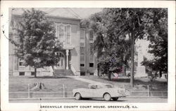 Greenville County Court House Postcard
