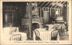 Shepards Camps - Corner of the Dining Room
