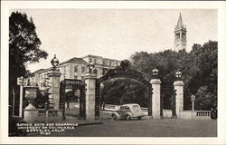 Sather Gate and Campanile, University of California