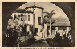 A visto of Andalusian Beauty at Santa Barbara Biltmore