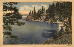 View of Lake, Rubicon Point Postcard