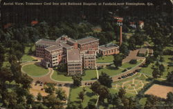 Aerial View, Tennessee Coal Iron and Railroad Hospital
