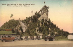 Castle Rock on US 31, Ancient Lookout of the Ojibways