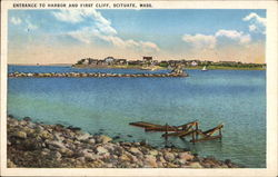 Entrance to Harbor and First Cliff