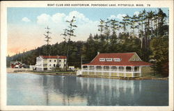 Boat Club and Auditorium, Pontoosuc Lake