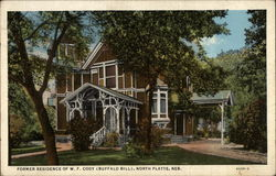 Former Residence of W. F. Cody - Buffalo Bill