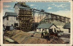 One of the Lead and Zinc Mines in the Tri-State Mining District