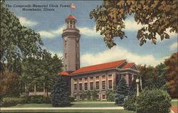 The Campanile-Memorial Clock Tower
