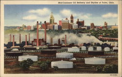 Mid-Continent Oil Refinery and Skyline