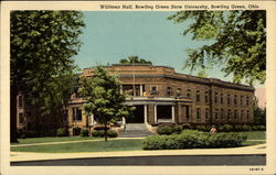 Williams Hall, Bowling Green State University Postcard
