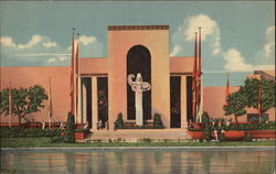 Texas Centennial Exposition, Transportation Group from Reflection Basin