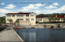 The L.A. Schreiner Residence at Cedar Lake