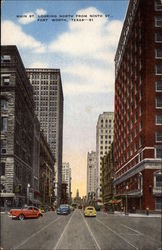 Main Street Looking North from Ninth Street Postcard