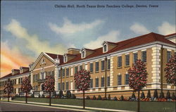 Chilton Hall, North Texas State Teachers College Postcard