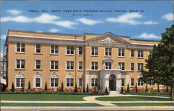 Terrill Hall, North Texas State Teachers College