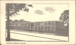 Proposed Municipal Building Postcard