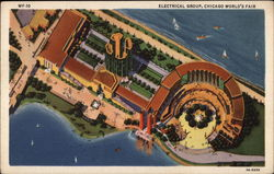 Electrical Group, Chicago World's Fair Postcard