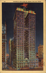 Magnolia Building By Night Postcard
