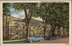 Brooks Memorial Hospital Postcard