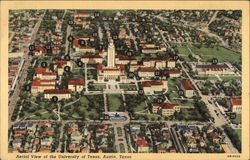 Aerial View of The University of Texas