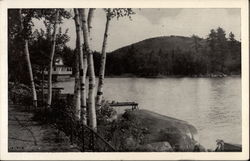 Along the Shore of Lake Sunapee, Casino and Sunset Hill, Blodgett Landing