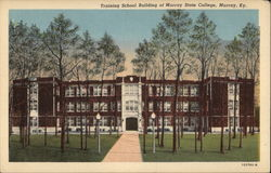 Training School Building of Murray State College Postcard
