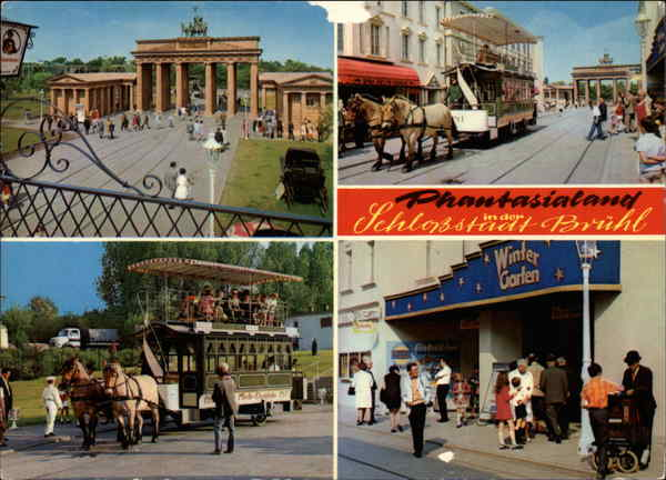 Phantasialand - Various Views Bruhl Germany