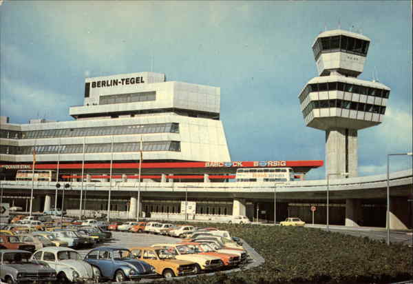 Tegel Airport Berlin Germany Airports