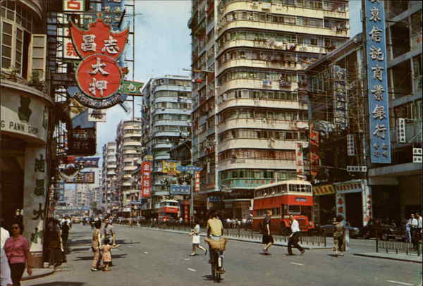 Argyle Street, Mongkok, Kowloon, Hong Kong China