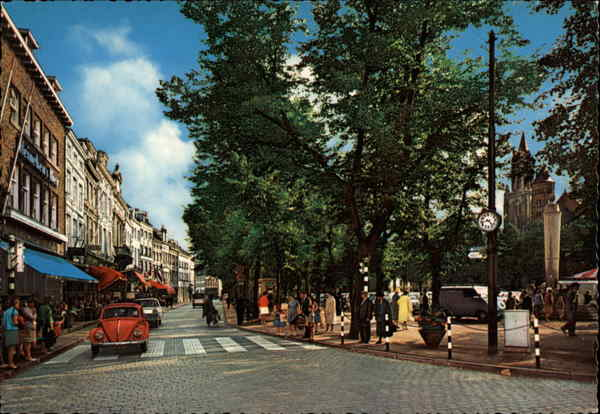 City Street in Maastricht, Netherlands Benelux Countries