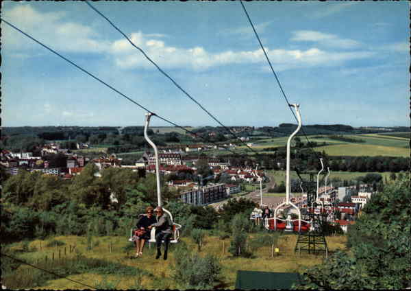 Cable Cars - Kabelbaan Valkenburg Netherlands Benelux Countries