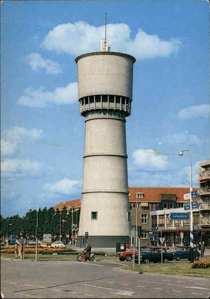 Watertower Den Helder Netherlands Benelux Countries