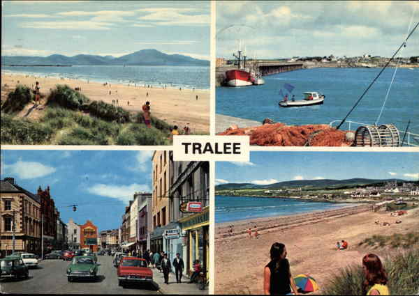 Picturesque Views of Tralee in County Kerry, Ireland