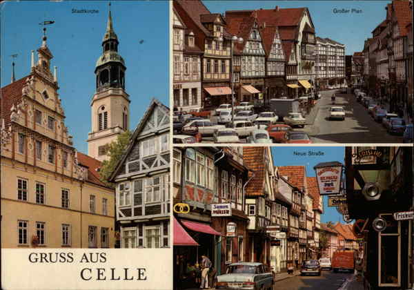 Various Views of Town Celle Germany