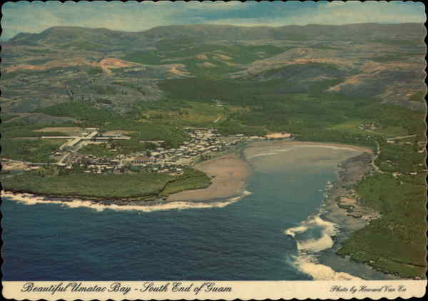 Umatac Bay and Town Guam South Pacific