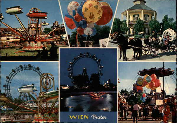 The Prater Vienna Austria