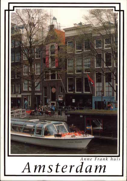 Anne Frank huis Amsterdam The Netherlands Benelux Countries