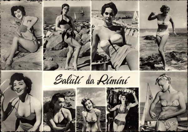 Saluti da Rimini, With Bathing Beauties Italy Swimsuits & Pinup