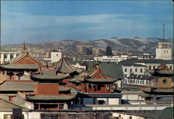 A View of the Capital Ulan Bator Mongolia China