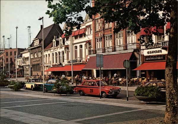 Market Place Eindhoven Netherlands Benelux Countries