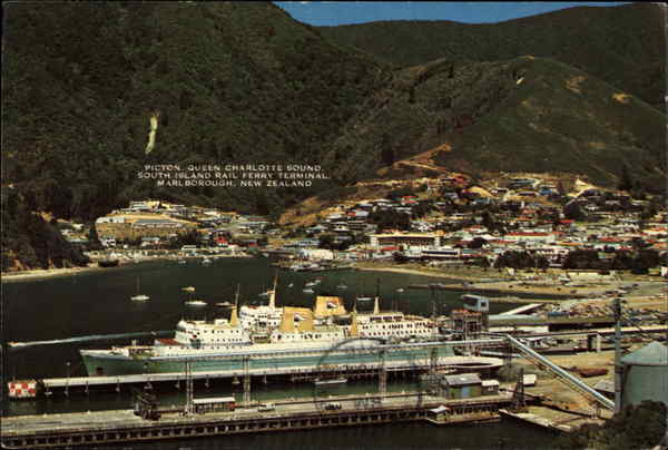 Cook Strait Ferries - New Zealand