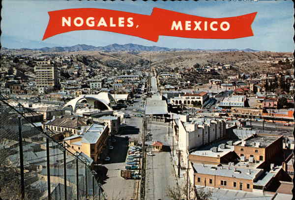 International Boundary Fence Nogales Mexico