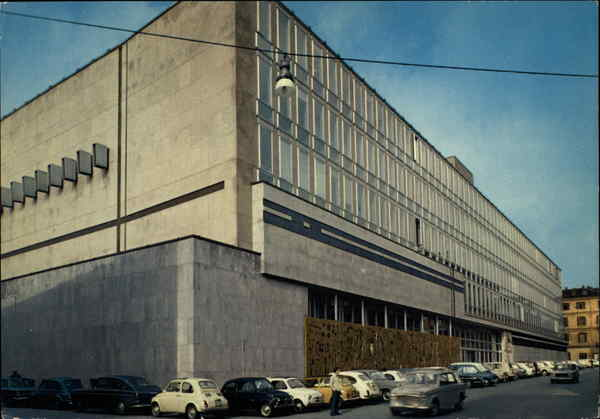 New Palace of Study of Broadcast Turin Italy