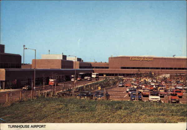 Turnhouse Airport Edinburgh Scotland