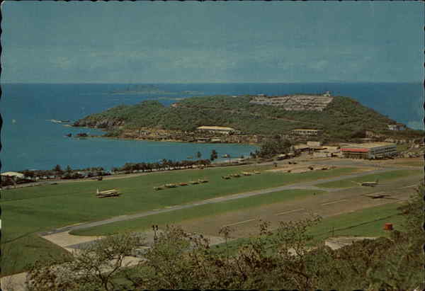 The Harry S. Truman Airport St. Thomas Virgin Islands