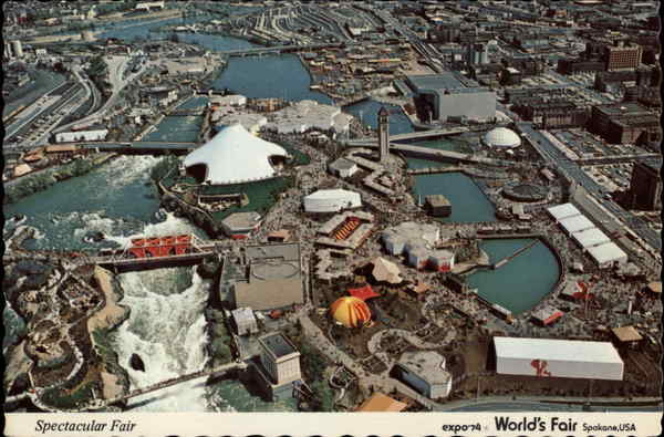 Expo '74 World's Fair, Spokane USA Washington