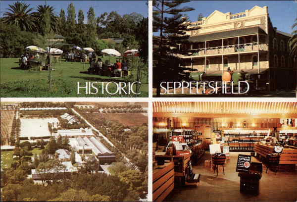 Various Views of Town Seppeltsfield Australia