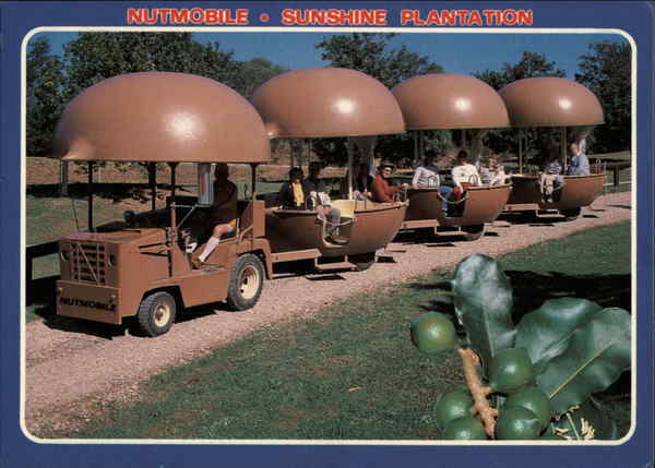 Nutmobile - Sunshine Plantation Nambour Australia